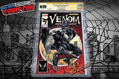 2018 NYCC Exclusive Venom: First Host #1 CLAYTON CRAIN Cover A CGC SIG SERIES