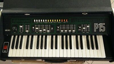 Vintage Analogue Synthesizer  Eko Synth P15 Italy This Price Up To January 10