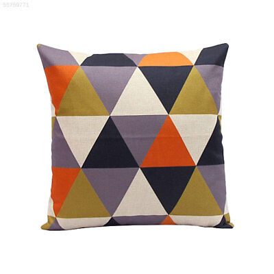 8560 Rhombus Pillow Set Decor Cushion Vintage Cute Doll Particle Orange Gift