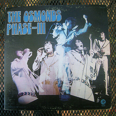 "The Osmonds ""phase-Iii"" I Se 4796 (1971) 12"" Gatefold Lp Ex Condition Phase 3"