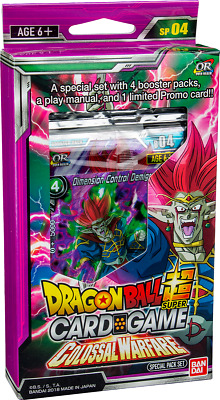 Dragon Ball Super Card Game - SP04 Colossal Warfare Special Pack - Pre-Order