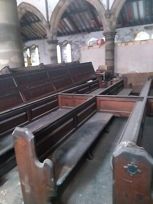 Church Pews for Reclamation