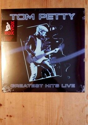 Tom Petty Greatest Hits Live Numbered Blue Vinyl. Please read description.