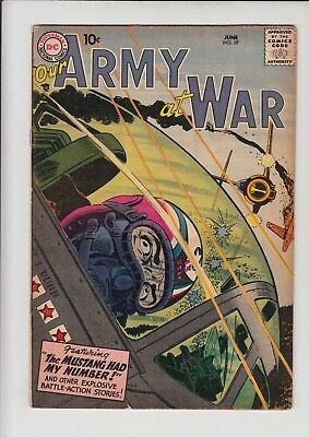 Our Army At War  #59 Vg/fn