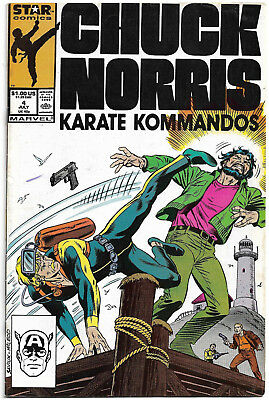 MARVEL Copper Age : Chuck Norris - Karate Kommandos #4 (Alex Saviuk) low print
