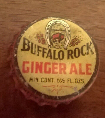 Buffalo Rock Ginger Ale Cork Soda Bottle Caps
