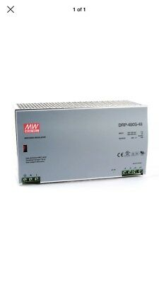 Meanwell DRP-480-48 Power Supply 480W 1PH (180-264VAC) 48VDC 10A 000729