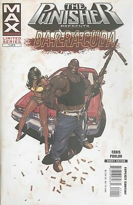 The Punisher Presents Barracuda Max #1-5 Limited Series NM GARTH ENNIS