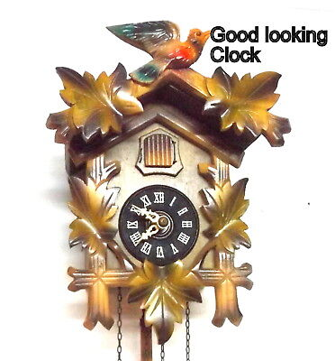 Cuckoo Clock, Weight Driven, looks great and running great
