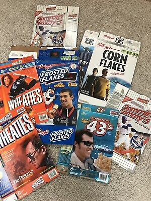 Cereal Boxes - Box Lot of 7 - Advertising - All in excellent condition