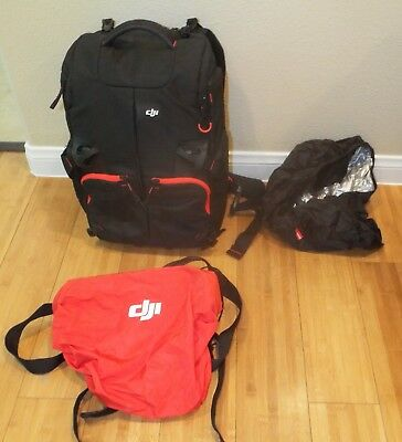 Manfrotto DJI Phantom Drone Backpack with Laptop Compartment w/Xtras Black GREAT