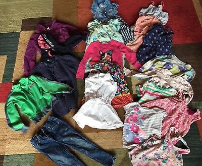 19pc Girls Size 5/6 Mixed Lot Old Navy Cat And Jack Lands End Nike