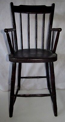 Mid 1800's Windsor Child's High Chair