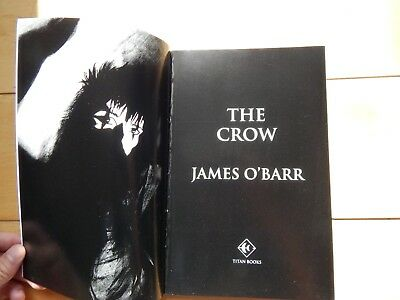 The Crow graphic novel by J O Barr