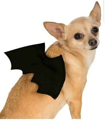 Official Rubie's Pet Bat Wings - Halloween Dog / Cat Small- Medium 883028686957