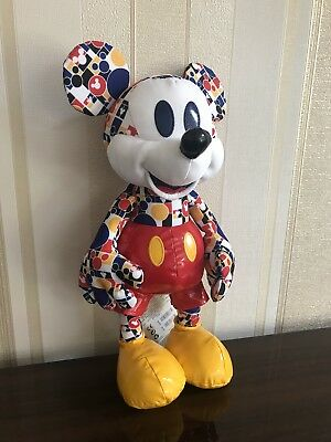 New Disney Store Mickey Memories March Plush Collectable Soft Toy BNWT