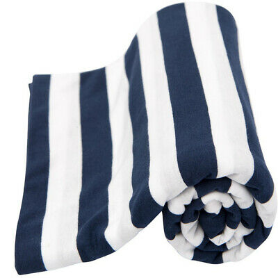 Lil' Fraser Baby Swaddle Wrap Cooper  Navy & White Stripe  Free Shipping