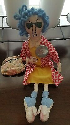 """Maxine Stuffed Doll By Hallmark""""Don't Worry, Be Crabby!"""
