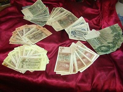 Sale!! ~~~~~> 1,2,5,10,20, &50 Wwii German Reichsmark Bills! <~~~~ Sale!!!