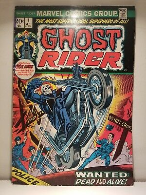 Ghost Rider #1 (Sep 1973, Marvel) 1st App in Solo Title