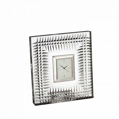 Waterford Crystal : Lismore Diamond Bedside Clock