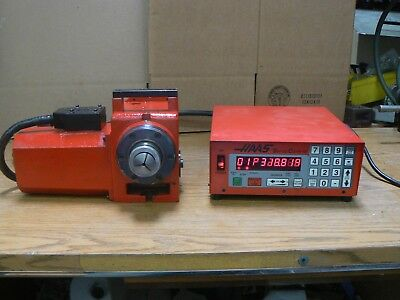 HAAS HA5C 5C Collet 17-PIN 4th Axis Indexer Control Box Pneumatic Closer Tested