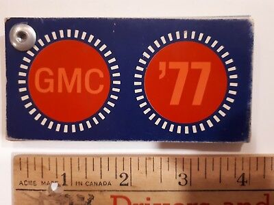 1977 GMC Truck  - Original Color Chip Deck - Exterior Paint Samples (CDN)