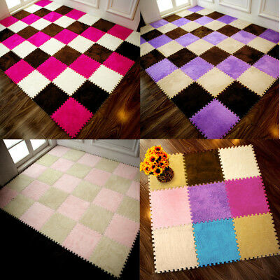 25*25cm Kids Play Carpet Foam Puzzle Mat EVA Baby Warm Winter Floor Colorful Pad