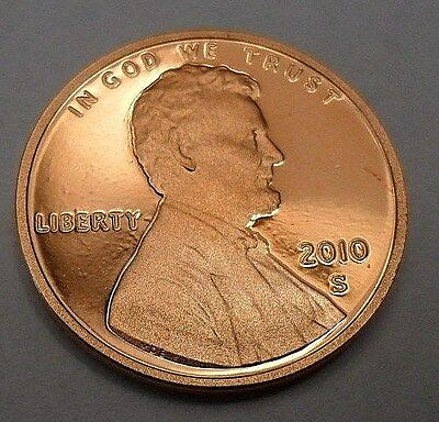 2010 S Lincoln Memorial *proof* Cent / Penny  **free Shipping**