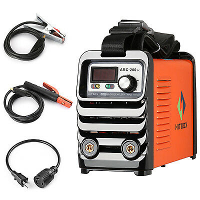 HITBOX ARC200 110V 220V Dual Voltage MMA ARC Welder Stick Welding Machine IGBT