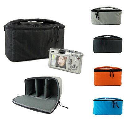 Waterproof DSLR SLR Camera Bag Padded Partition Camera Built-in Insert Bag