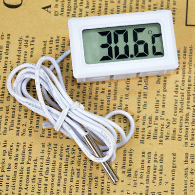 9454 LCD Embedded Digital Thermometer For Fridges FISH TANK Temperature Home Kit