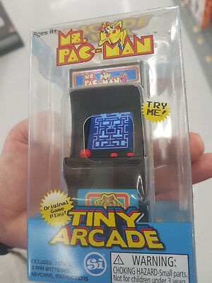 Arcade Classic Pacman Galaxian Space Inv. kleinster Automat Tiny volle Funktion