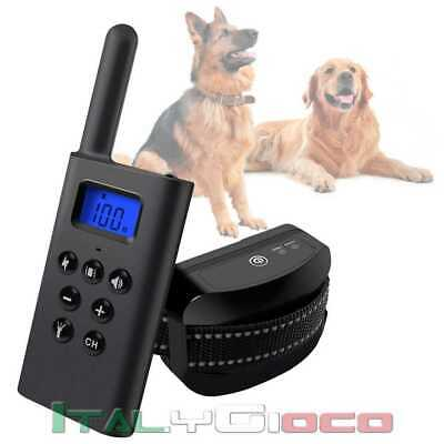 Collare Con Controllo Remoto Cane Cani Dogs Schermo LCD Pet Training 200m L-168