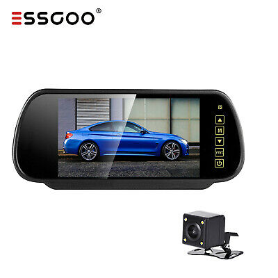 "Wireless Reverse Camera + 5"" LCD Monitor Screen Car Rear View Backup Waterproof"