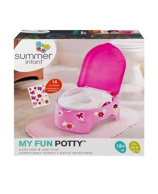 Summer Infant My Fun Potty Girl Pink