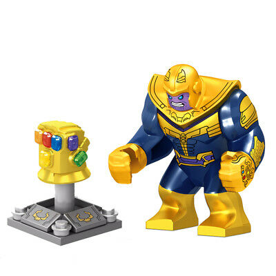 2018 Perfect gift Marvel Thanos Gauntlet Mini Figures Building Blocks Fit lego