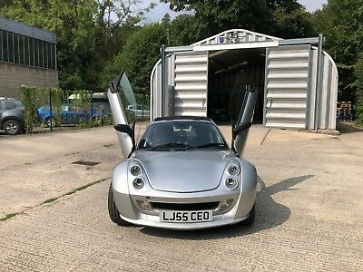 Smart Brabus roadster coupe convertible in silver 2 owner - REDUCED