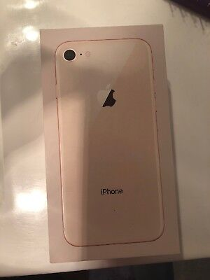 iPhone 8 Plus Rose Gold 64GB ***BOX ONLY***