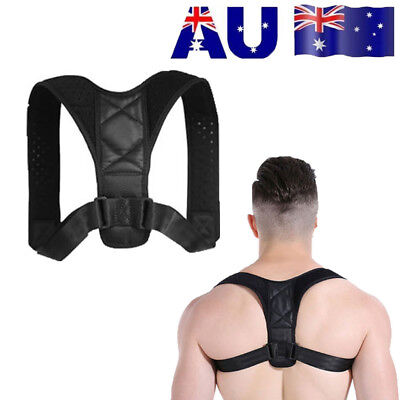 Posture Clavicle Corrector Back Support Straight Shoulders Brace Strap Correct O