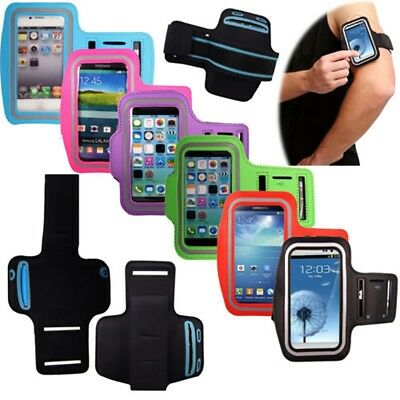 Running Jogging Exercise Arm Band Armband Case Phone Holder for iPhone Galaxy