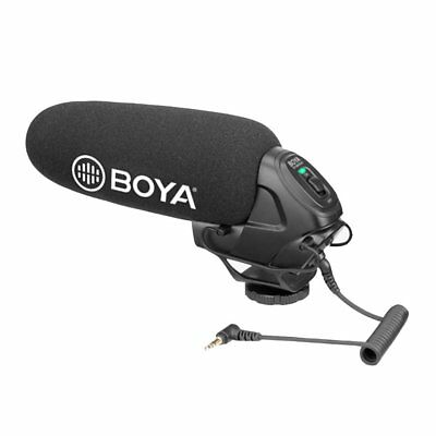BOYA BY-BM3030 On-Camera Shotgun Microphone for DSLR Cameras Audio Recorders