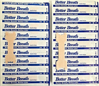 100x BETTER BREATH NASAL STRIPS Sml/Med LARGE Breathe Snore Sleep Right Hot