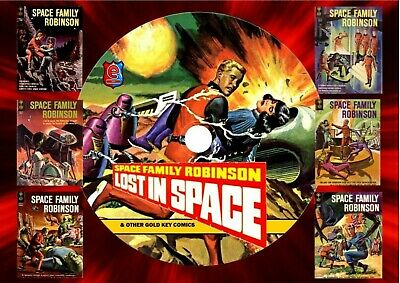 Lost In Space & Other Gold Key Comics On DVD Rom