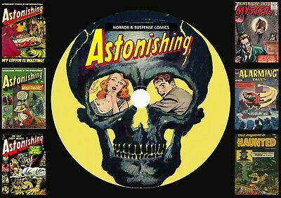 Astonishing Horror & Suspense Comics On DVD Rom