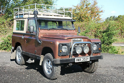 "Land Rover Series 3 88"" County Station Wagon"