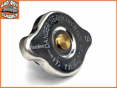 STAINLESS STEEL Radiator Rad Cap 13lbs fits Ford Mustang 1965-1973