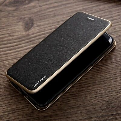 Premium Magnetic Flip Wallet Hybrid Leather Case Stand Shockproof Phone Cover