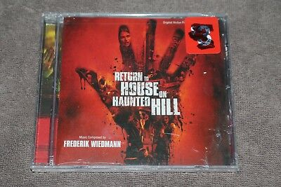 Frederik Wiedmann ‎Return To House On Haunted Hill 2007 US SEALED CD Soundtrack