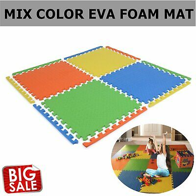 60cm Baby Crawling Puzzle Mat Soft EVA Foam Kids Play Carpet Home Floor Blanket